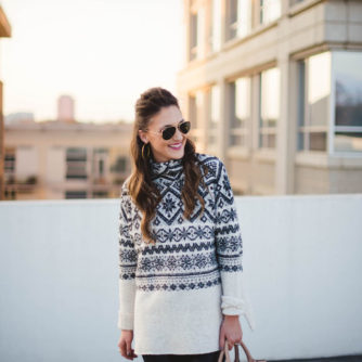 fair isle sweater, sale, winter fashion, blogger