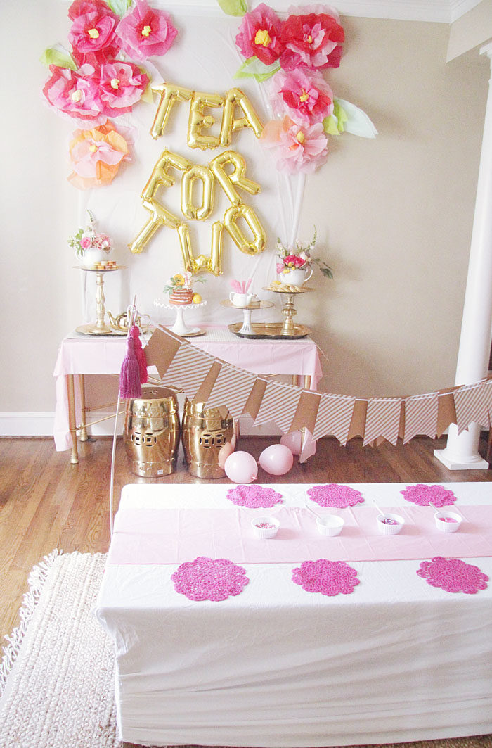 Tea for two a birthday party style your senses for 2nd birthday party decoration ideas