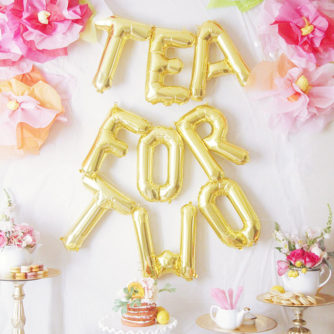 A Tea for 2 Birthday Party!
