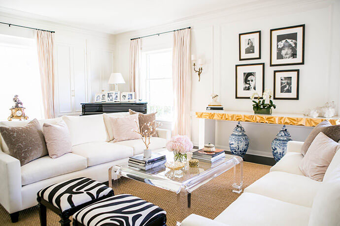 beautiful home tour, glitter guide, glam