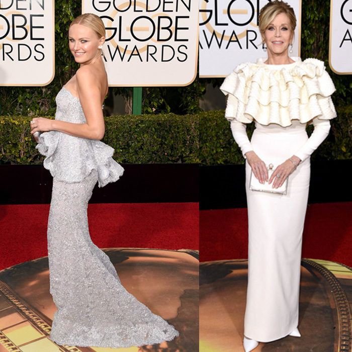 Golden Globes, Fashion, Ball Gown, Couture