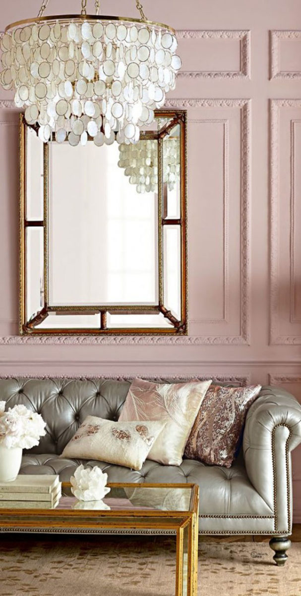 rose quartz, pantone, pink decor, interior design