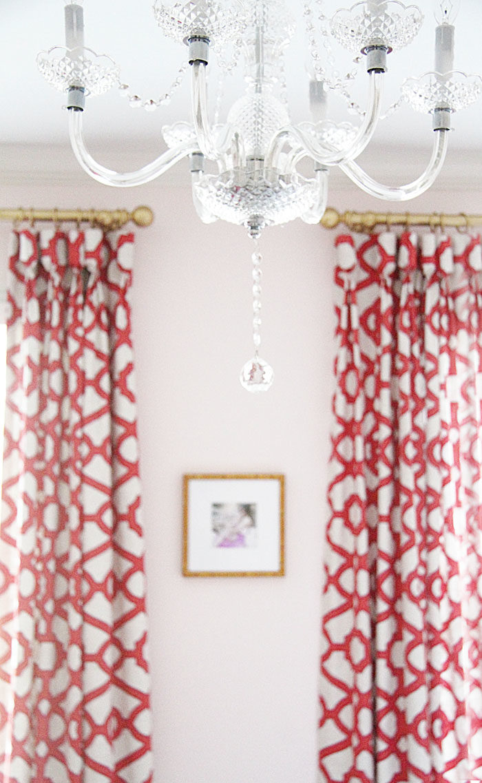 guest room, colorful, lattice drapes, framebridge