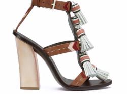 Tory Burch Heels, Tassels, Spring