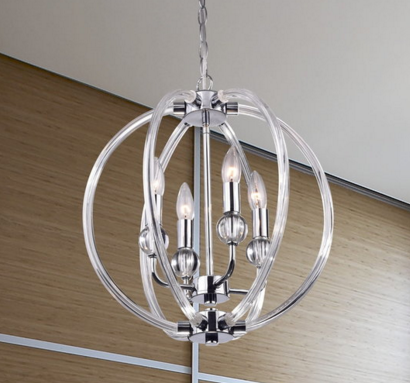 griselda light, lucite light, modern