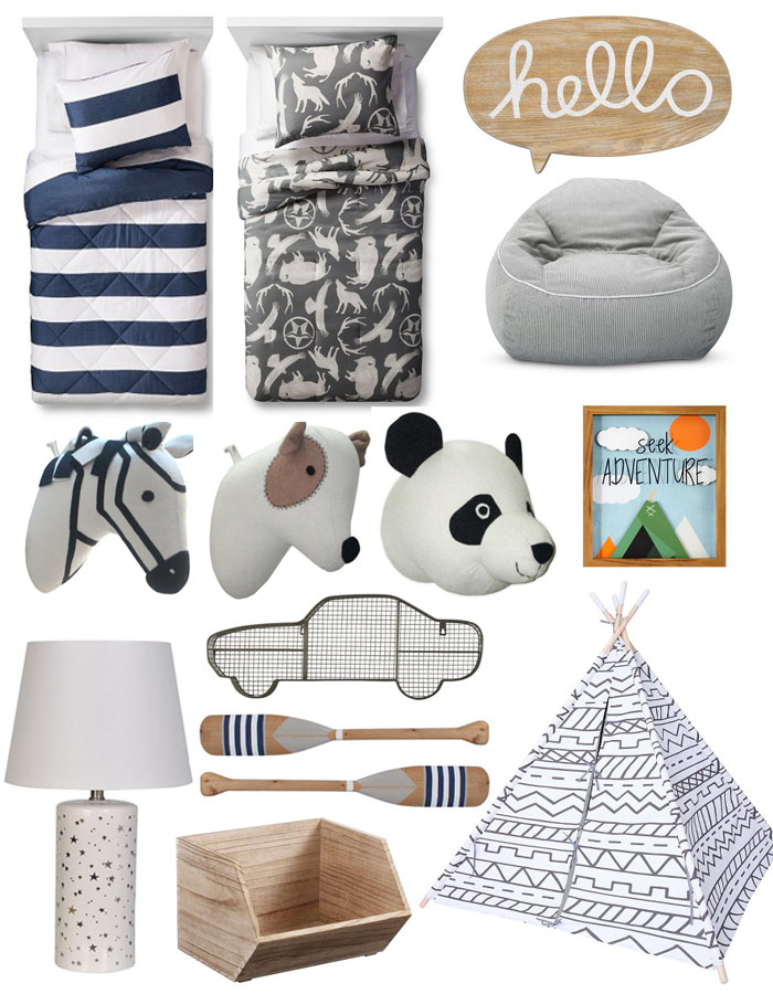 pillowfort, target, kids decor, kids room