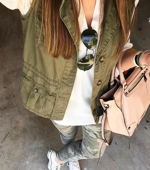 camo pants, ootd, fashion blogger, handbag, , tunic,
