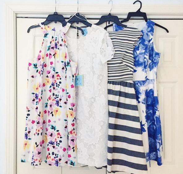 dresses, spring dress, donna morgan, cynthia steffe