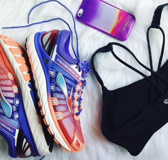 brooks, running shoe