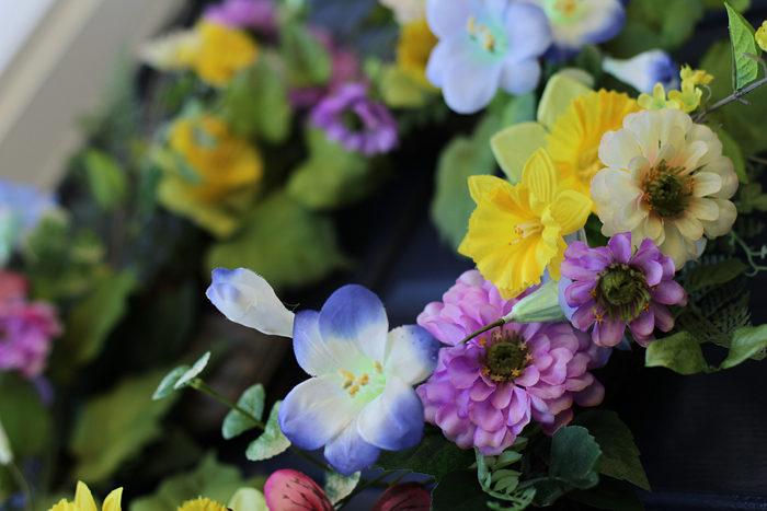 spring home tour, home tour, spring flowers