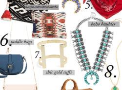 accessories for Spring, Spring Trend, Squash Blossom, Saddle Bag, Fashion Blogger
