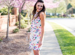 cece cynthia steffe, floral dress, sam edelman azalea heels, style your senses