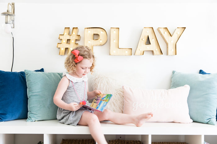 playroom, kids space, stylish playroom, media room, blogger, interior design