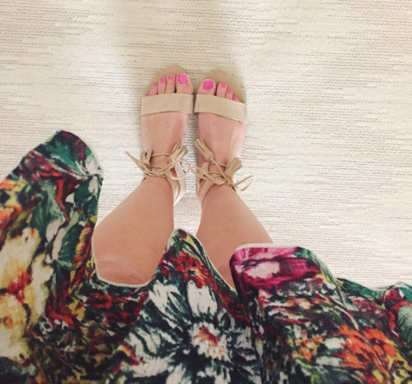 These tassel Steve Madden sandals are versatile and comfortable.