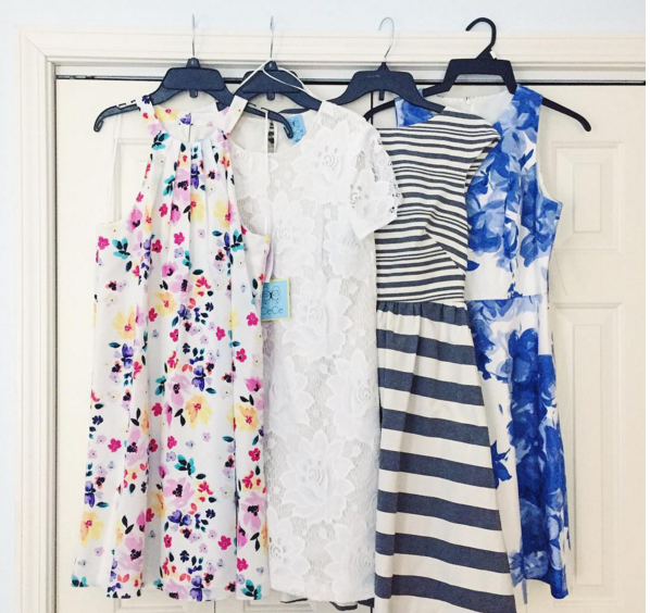 The very best Spring dresses in a variety of girly silhouettes.