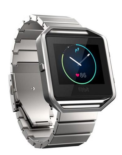 Fitbit Blaze in Steel Band