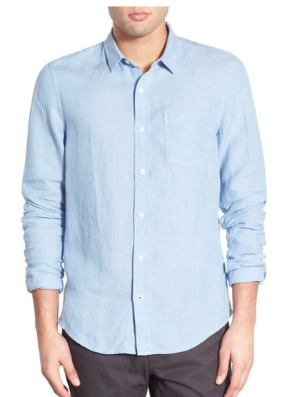 Men's lightweight linen shirt for Spring.