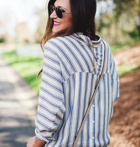Love this striped tunic top for a casual summer look.