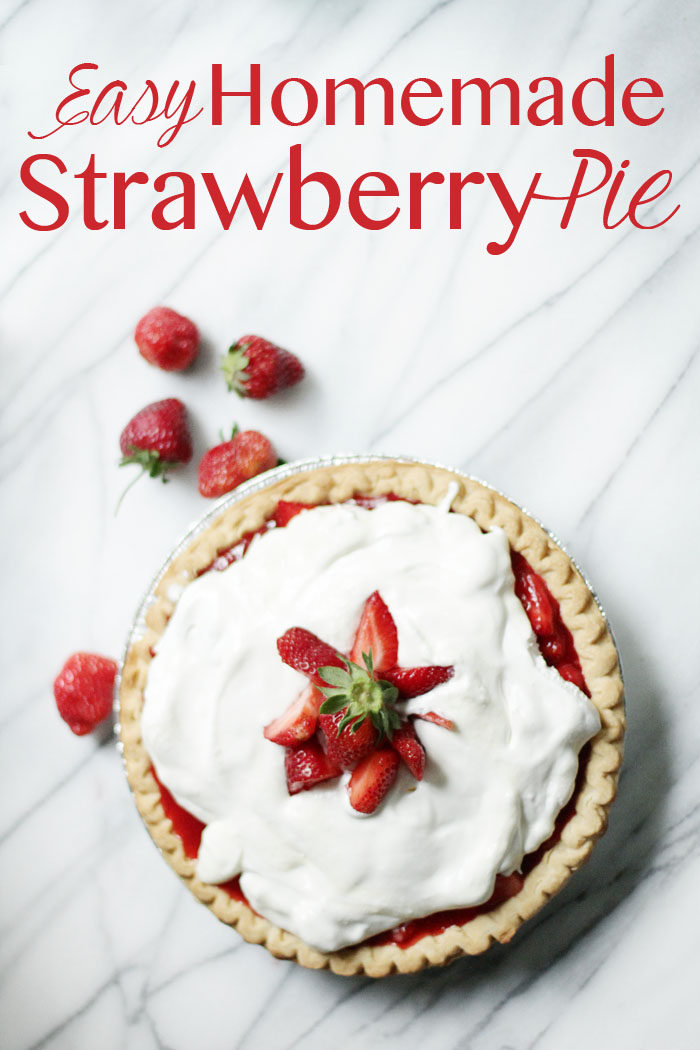 recipe for homemade strawberry pie