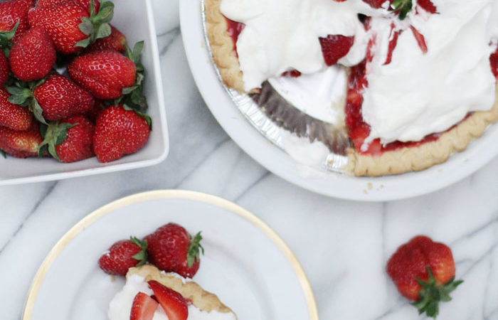 Strawberry Picking + Homemade Strawberry Pie Recipe!