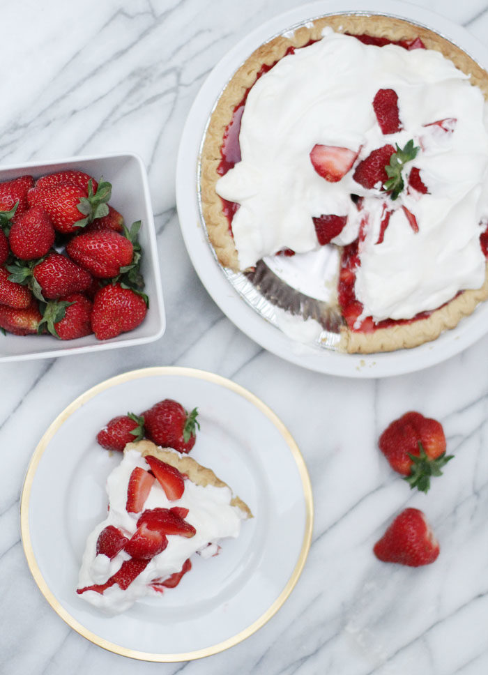 How to make homemade strawberry pie