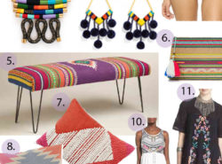 tribal trend fashion home decor