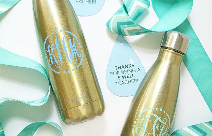 DIY Teacher Gift with S'well Bottle