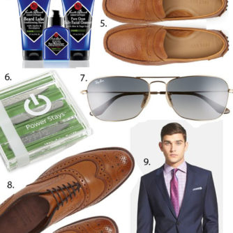 fathers day gift guide featured by popular Dallas style blogger, Style Your Senses