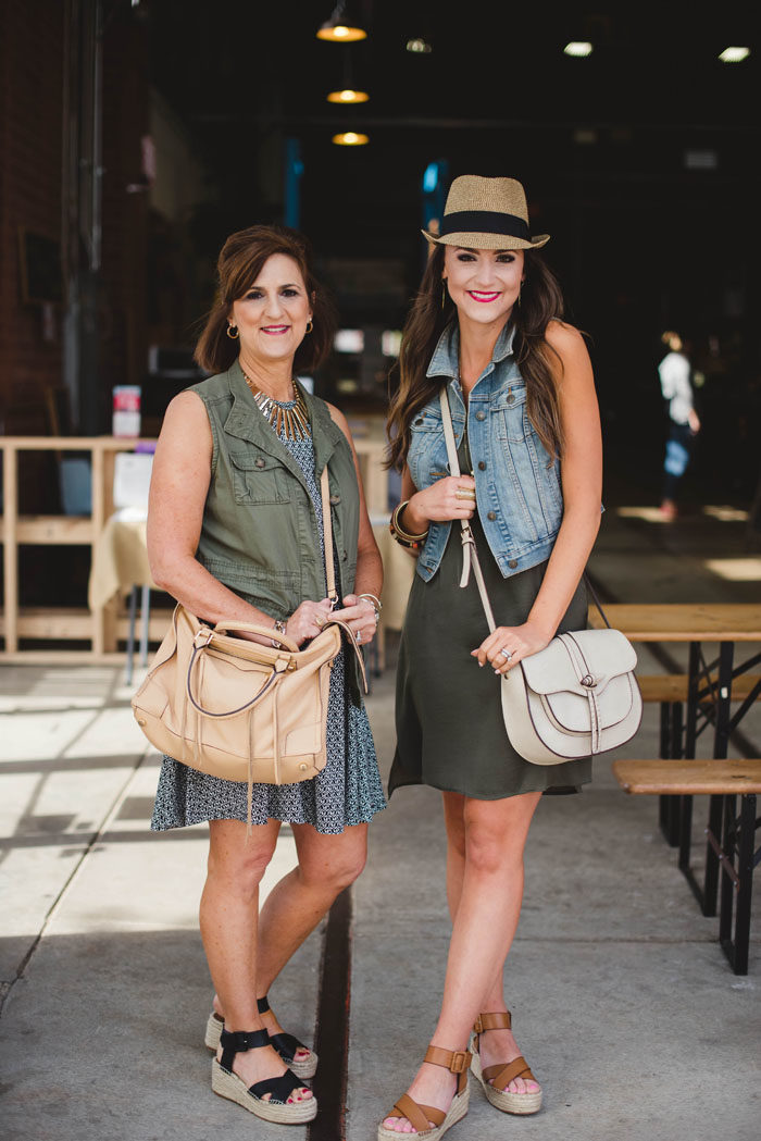 Mother Daughter Style Post showcasing fashion at any age