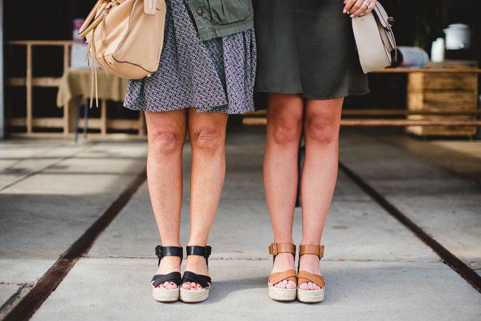 Flatform sandals are a huge trend for summer