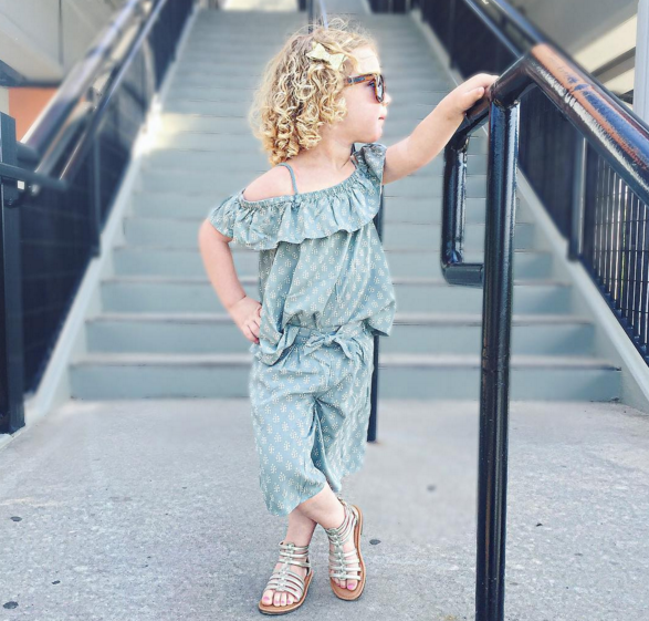 coordinating toddler set from Old Navy