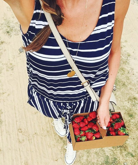 Striped Jumpsuit from Old Navy is affordable and easy to wear