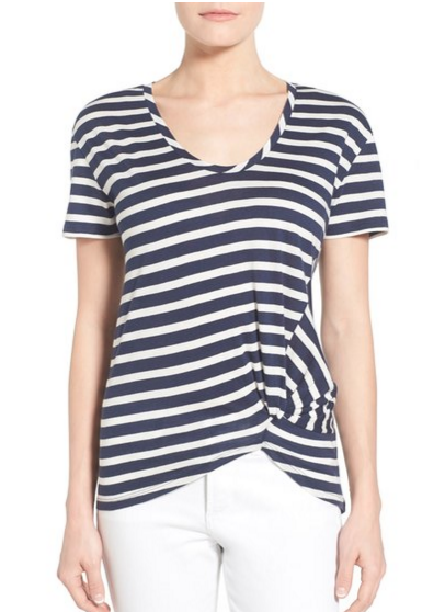 striped t-shirt for summer