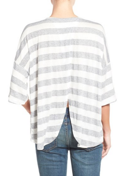 stem stripe top