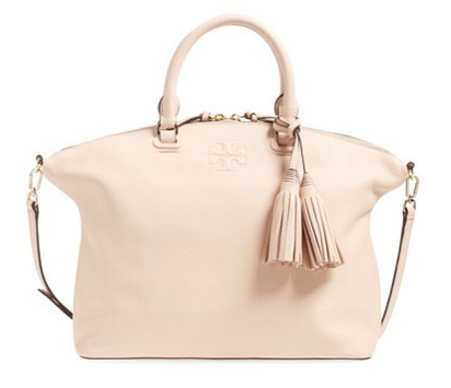 tory burch bag in blush