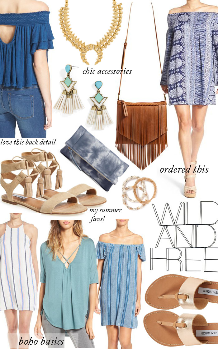 Boho chic finds under $50!