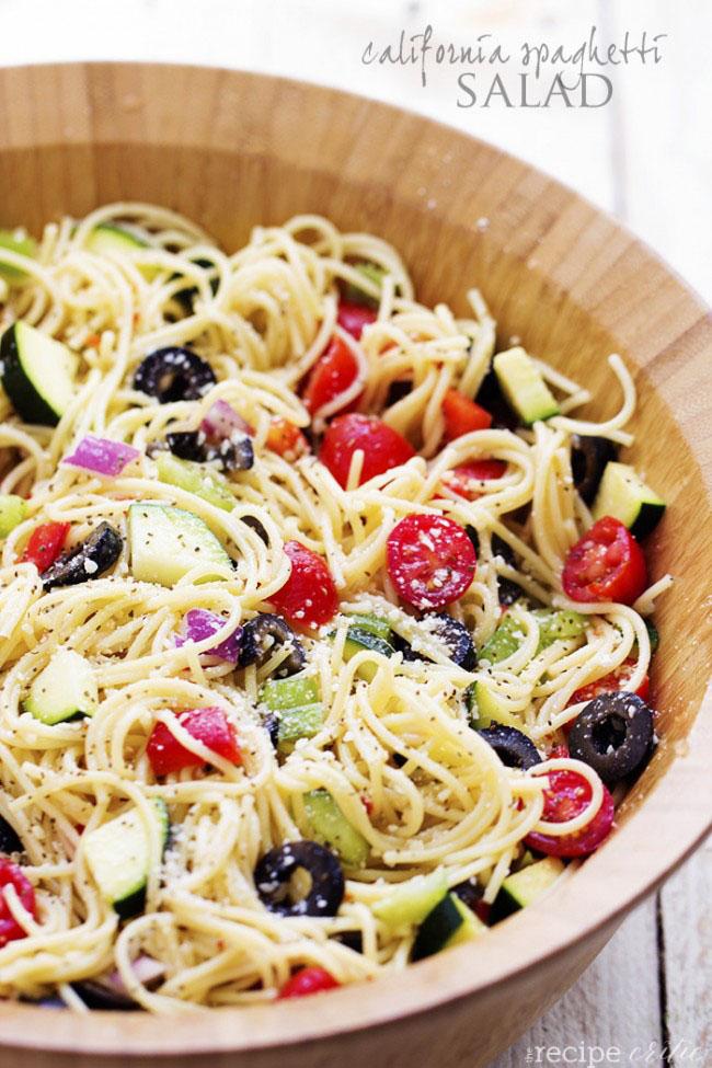 summer spaghetti salad