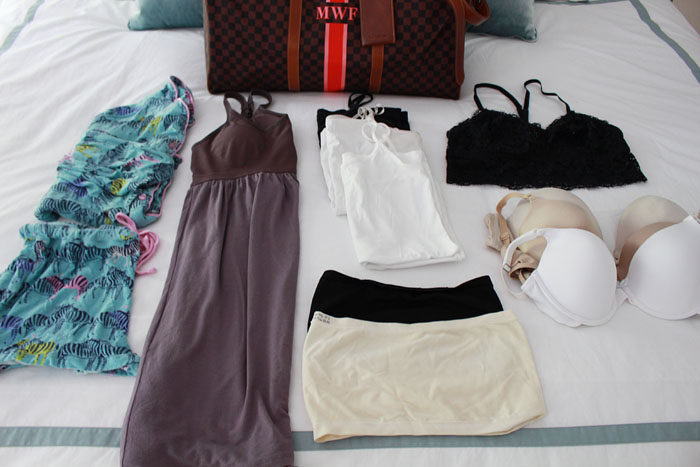 how to pack for a long vacation