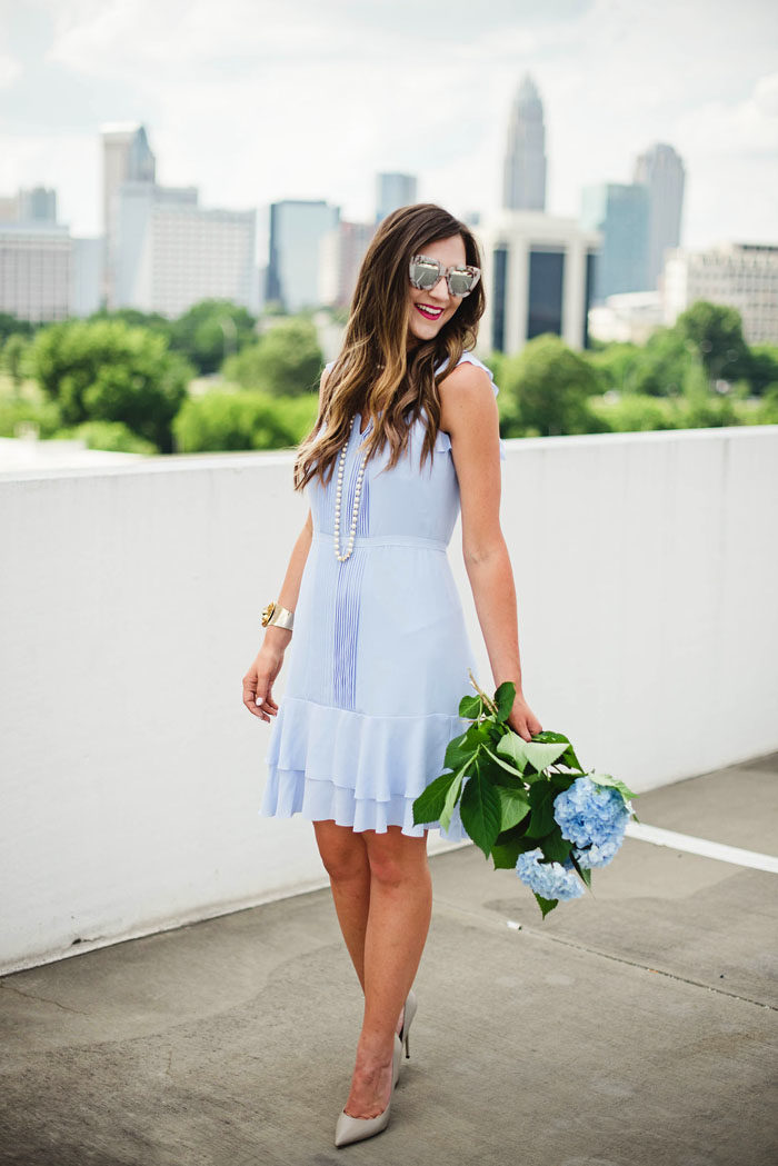 Flirty and feminine dress for summer