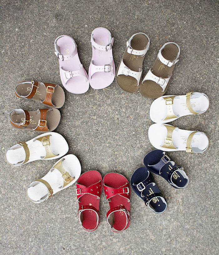 Saltwater sandals for boys and girls
