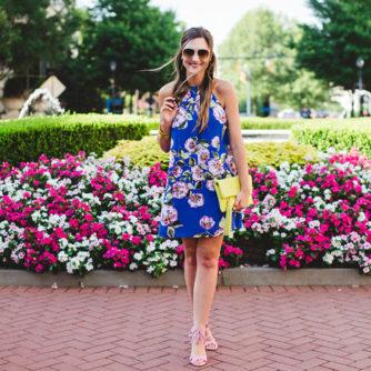 #NSALE Floral Dress | Under $100