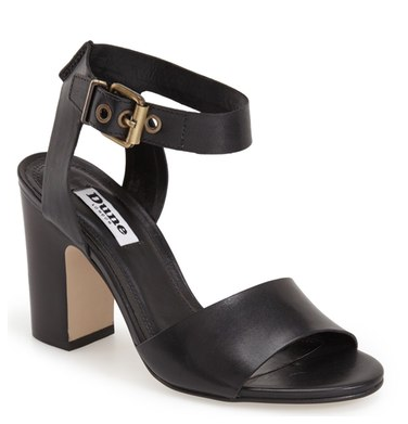 Dune black heels on sale