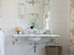 How to make shiplap more glam.