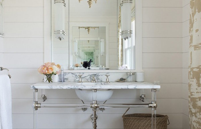 Interior Trend I'm Loving: Shiplap Glam