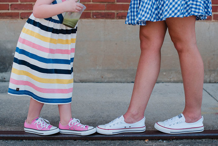 Mommy and Me back to school shoes