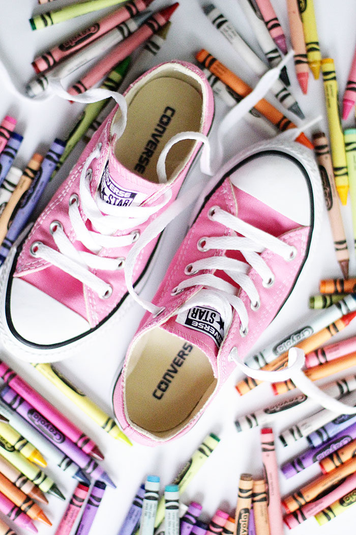 Converse Chuck Taylor low top sneakers are perfect for back to school