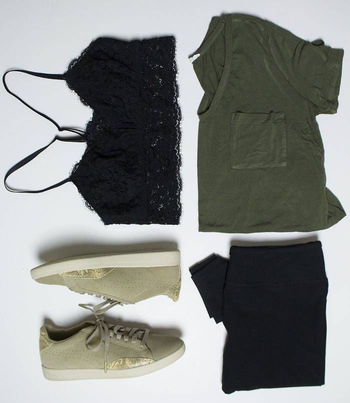 Athleisure Outfit Inspiration for a sporty chic look