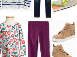 Back to School Look Book for Toddler Girls