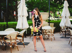 Black and White heart dress | Cece dress