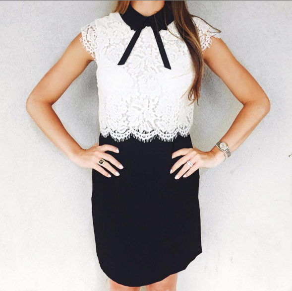 Adorable lace dress perfect for so many occassions